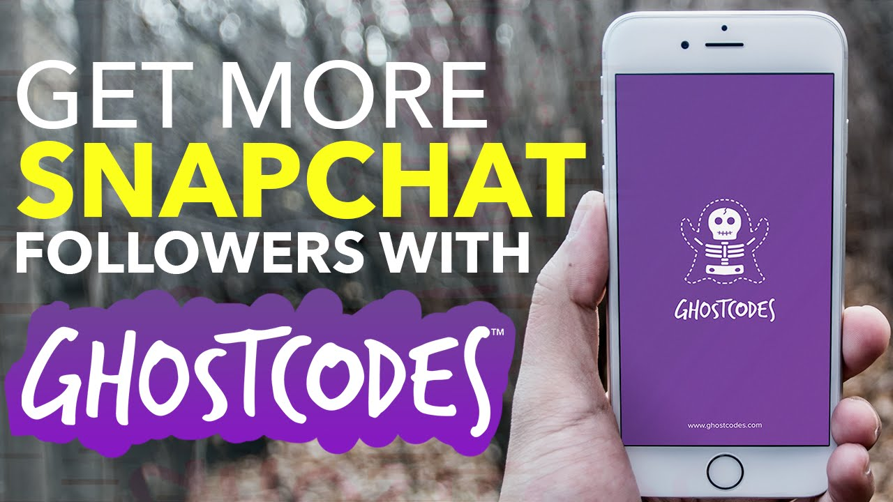 GhostCodes - A discovery app for Snapchat ( iOS v1 1 Walkthrough)