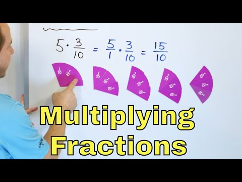 Learn to Multiply Fractions & Understand Improper Fractions & Mixed Numbers - [29]
