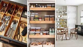 10 Storage Tricks For A Small Kitchen
