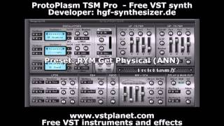 Protoplasm TSM Pro - Free VST synth - vstplanet.com