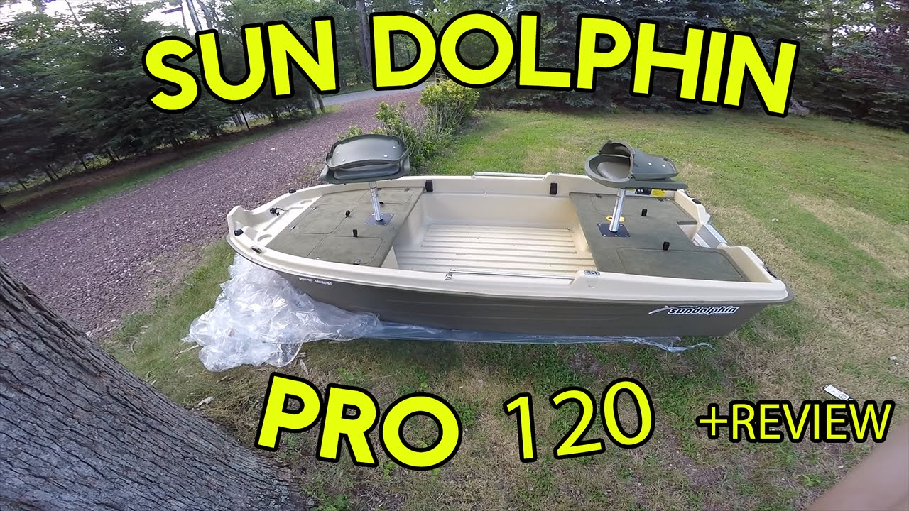 Sun Dolphin Pro 120 - Review - YouTube