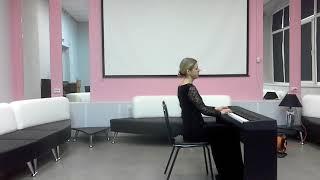 Mozart. Sonata No.10 C Major Kv. 330 1 st Movement/Anna Goryeva ( piano )