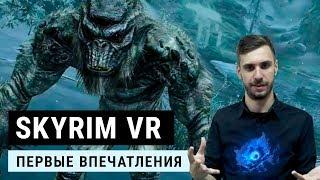 TES 5: Скайрим VR, VR кошмар. Bethesda, зупинись!