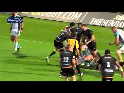 Northampton 34-6 Ospreys European Rugby Champions Cup 2014
