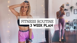 How To Make A FITNESS ROUTINE
