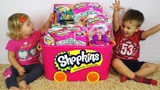 ★ ШОПКИНС Вся Коллекция Игрушек Шопкинс Супермаркет Shopkins Supermarket Small Mart Playset Toy