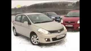 Renault Megan, Toyota Auris, Nissan Tiida