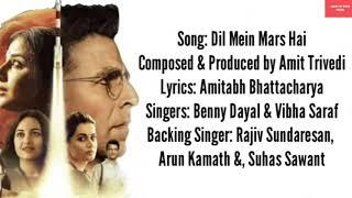 Dil me Mars hai lyrics mission mangal movie Aksya Kumar latest version of the T-SIRIES super tv
