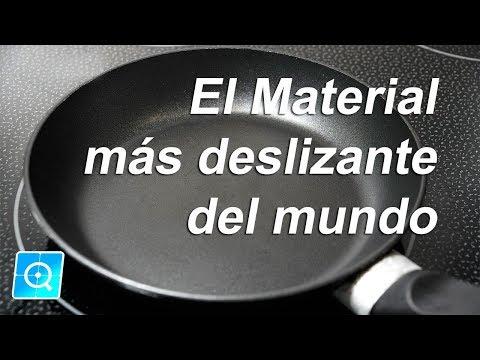 El material mas deslizante del mundo #quimiciencia