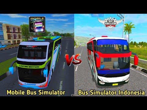 Mobile Bus Simulator Vs Bus Simulator Indonesia | Bus Games Comparison