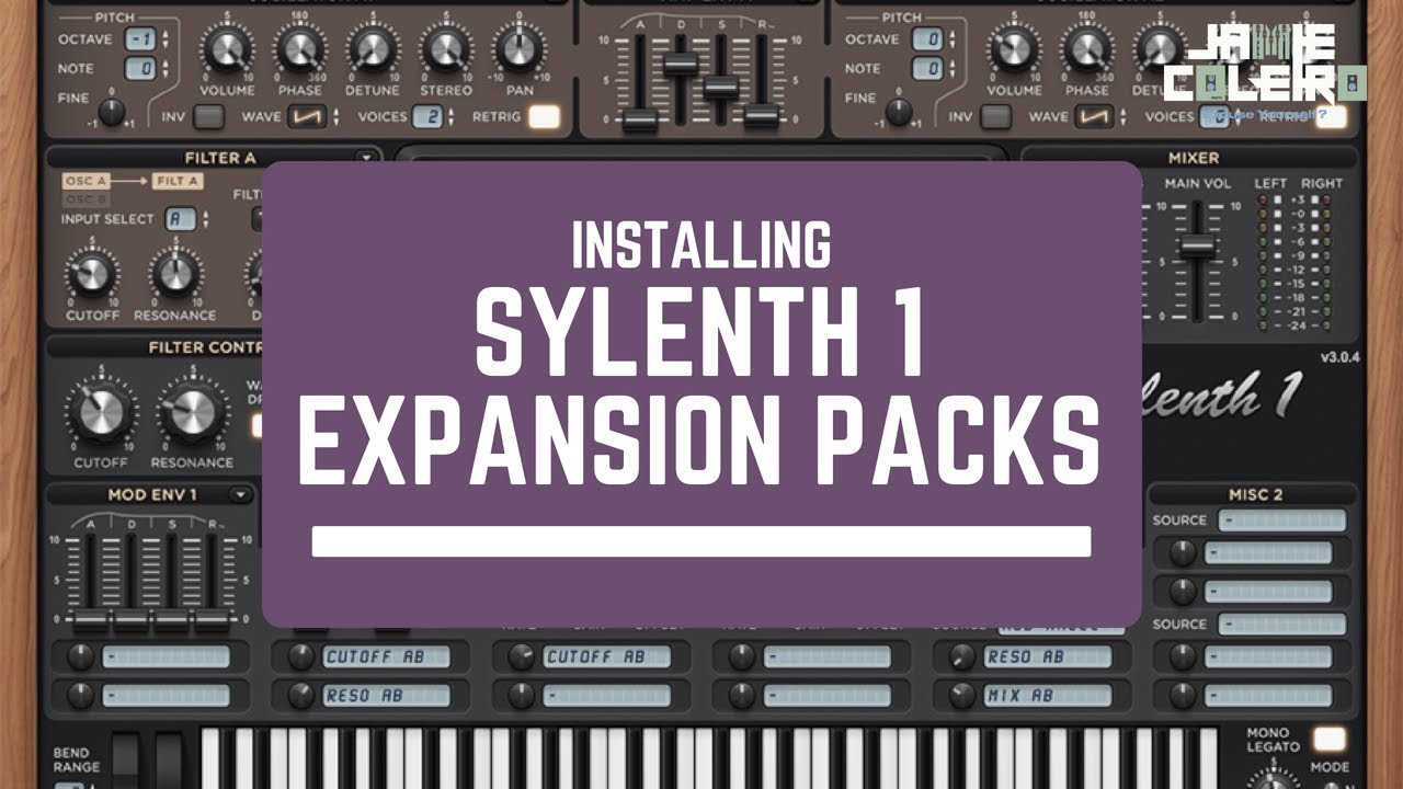 Let's add a VST Expansion Pack to    Sylenth1 [EP  #3]