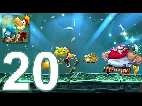 Rayman Adventures - Gameplay Walkthrough Part 20 - Hell-o-wheel Challenge (iOS, Android)