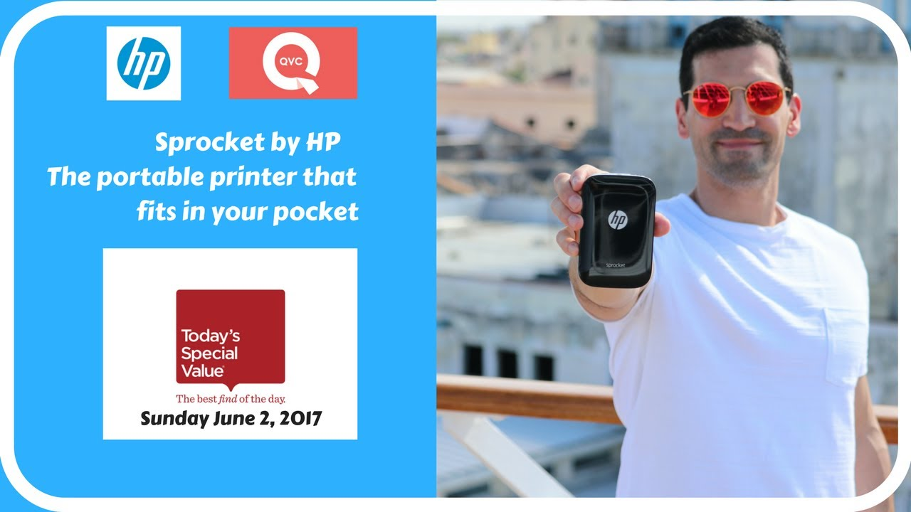 Sprocket By Hp Returns To Qvc Youtube