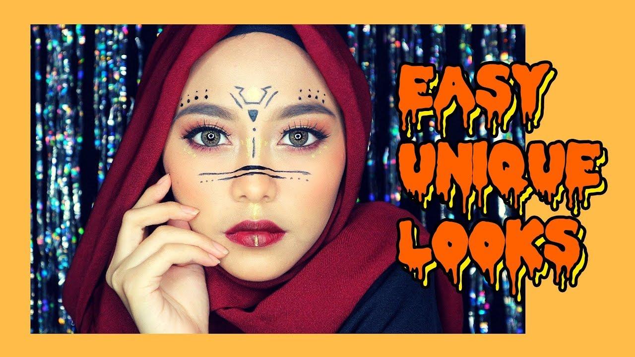 Make Up Halloween Simple Hijab.Halloween Makeup Tutorial Untuk Pemula Nadhila Qp