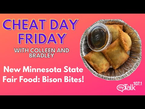 Cheat Day Friday! New Minnesota State Fair Food: Bison Bites