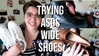 ASOS Wide Width Shoes for Women | Plus Size Fashion Haul