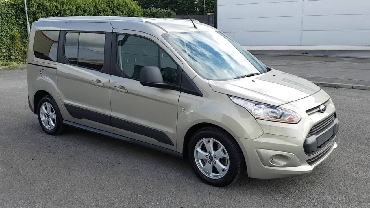 2015 Ford Grand Tourneo Connect - YouTube