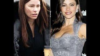 Звезды Голливуда с макияжем и без #2 Hollywood stars without makeup #2