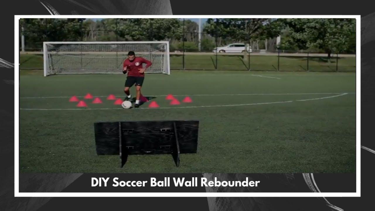 43aeaeeed DIY Homemade Soccer Ball Wall Rebounder 2018 Full Guide - YouTube