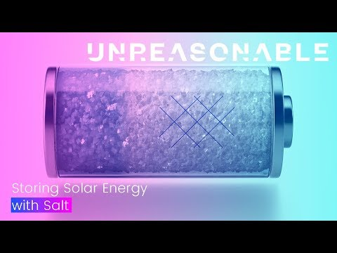 Storing Solar Energy with Salt | SaltX Technology