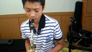 You Are So Beautiful. Min Heo, 11years Korean saxophone