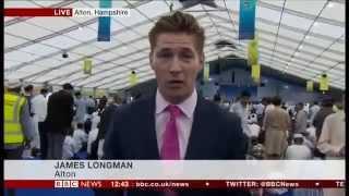 BBC News: Ahmadiyya Muslim Community Jalsa 2015