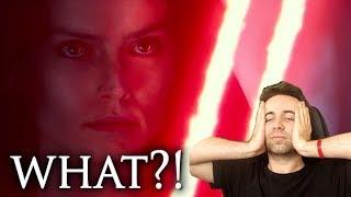 REAKCJA NA REY Z CZERWONYM MIECZEM! The Rise Of Skywalker D23 Special Look Reaction