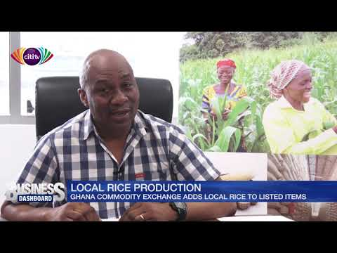 Ghana Commodity Exchange adds local rice to listed items