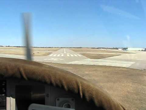 Brantford Airport landing runway 05 in a Zenair CH300