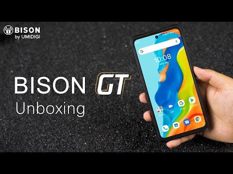 UMIDIGI BISON GT Unboxing - World's Highest Screen-to Body Ratio Rugged Flagship