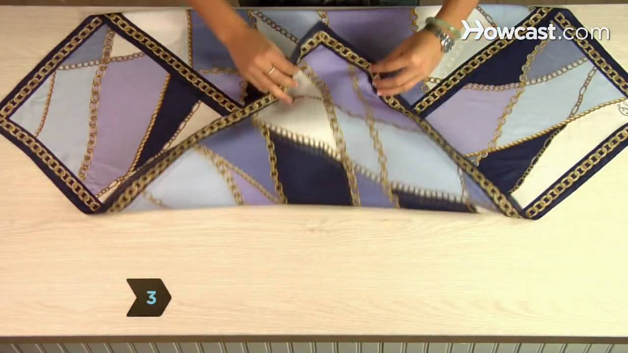 1532eef9a1f How to Tie a Scarf Belt - YouTube