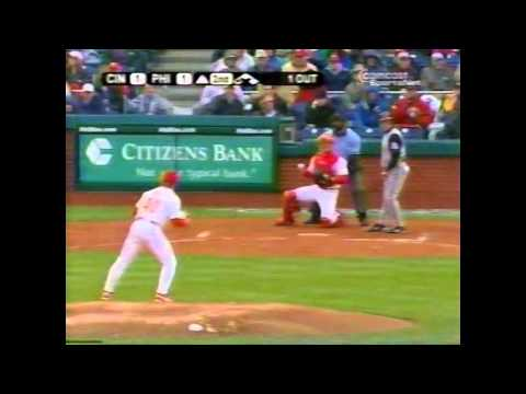 April 2004 - Reds vs Phillies (First game at Citizens Bank Park)