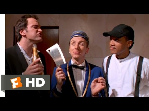 Four Rooms (8/10) Movie CLIP - A Hatchet as Sharp as the Devil Himself (1995) HD
