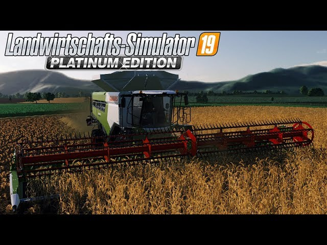 LS19 Project Claas #01 - Action mit dem Claas Lexion 8900! - LS19 CLAAS