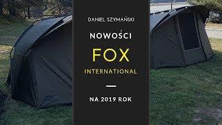 Pokaz nowości karpiowych Fox na 2019 rok