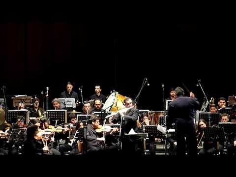 Santiago University Orchesta in Viña del Mar, Chile