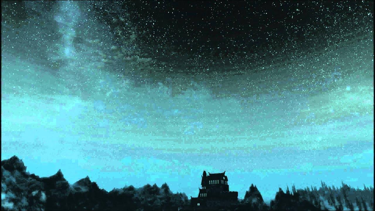 Dev Hd Wallpaper Skyrim Amazing Night Sky Mod 1080p Hd Youtube