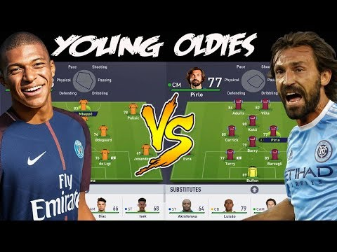 YOUNGEST TEAM 👶 VS OLDEST TEAM 👵! �🤔� FIFA 18 EXPERIMENT! HOT PEPPER FORFEIT🌶!