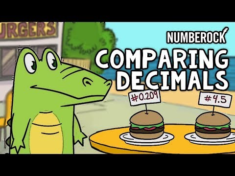 Comparing Decimals with Less Than and Greater Than | Grades 4-6