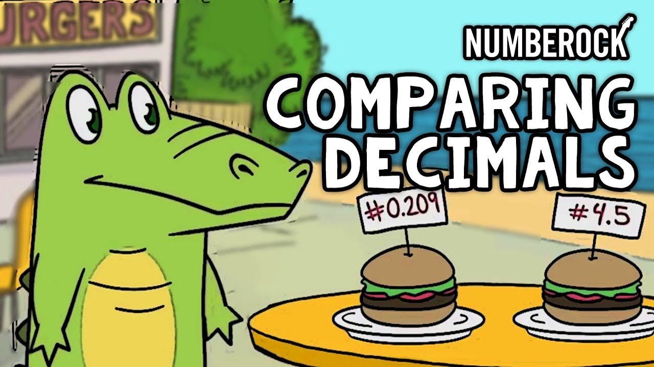 small resolution of Comparing Decimals   Less Than and Greater Than Decimals   Grades 4-6 -  YouTube