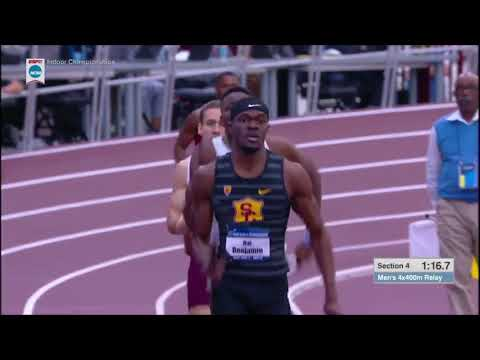 USC 4x400 Men's World Record - 2018 NCAA Indoor 4x400m Final