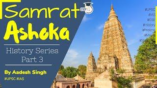Samrat Ashoka the Great - Maurya Empire   Kalinga War. Ancient History of India