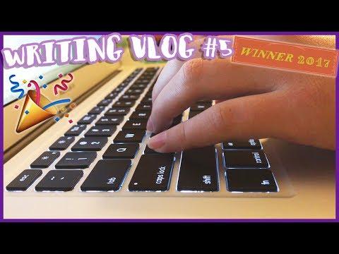 WRITING VLOG #5   I WON CAMP NANOWRIMO 2017
