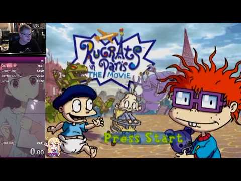 World Record Speedrun for Rugrats in Paris any percent (Console WR)