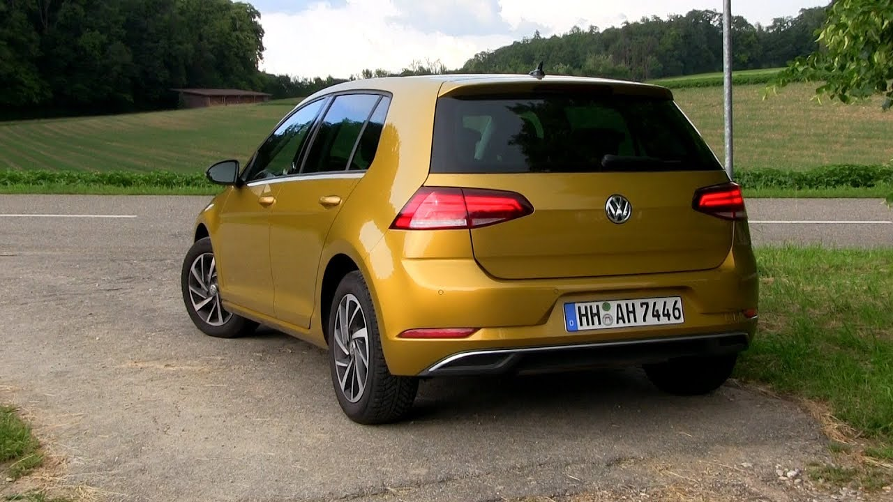 2018 vw golf 7 1 0 tsi 110 hp test drive youtube. Black Bedroom Furniture Sets. Home Design Ideas