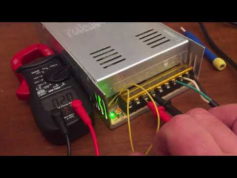 Voltage Mod 12 Volt 30 Amp Switching Power Supply S-360-12 Meanwell SuperNight