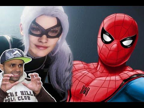 سبايدر مان : القطة السوداء !! 🐱👤🔥   Spider-Man