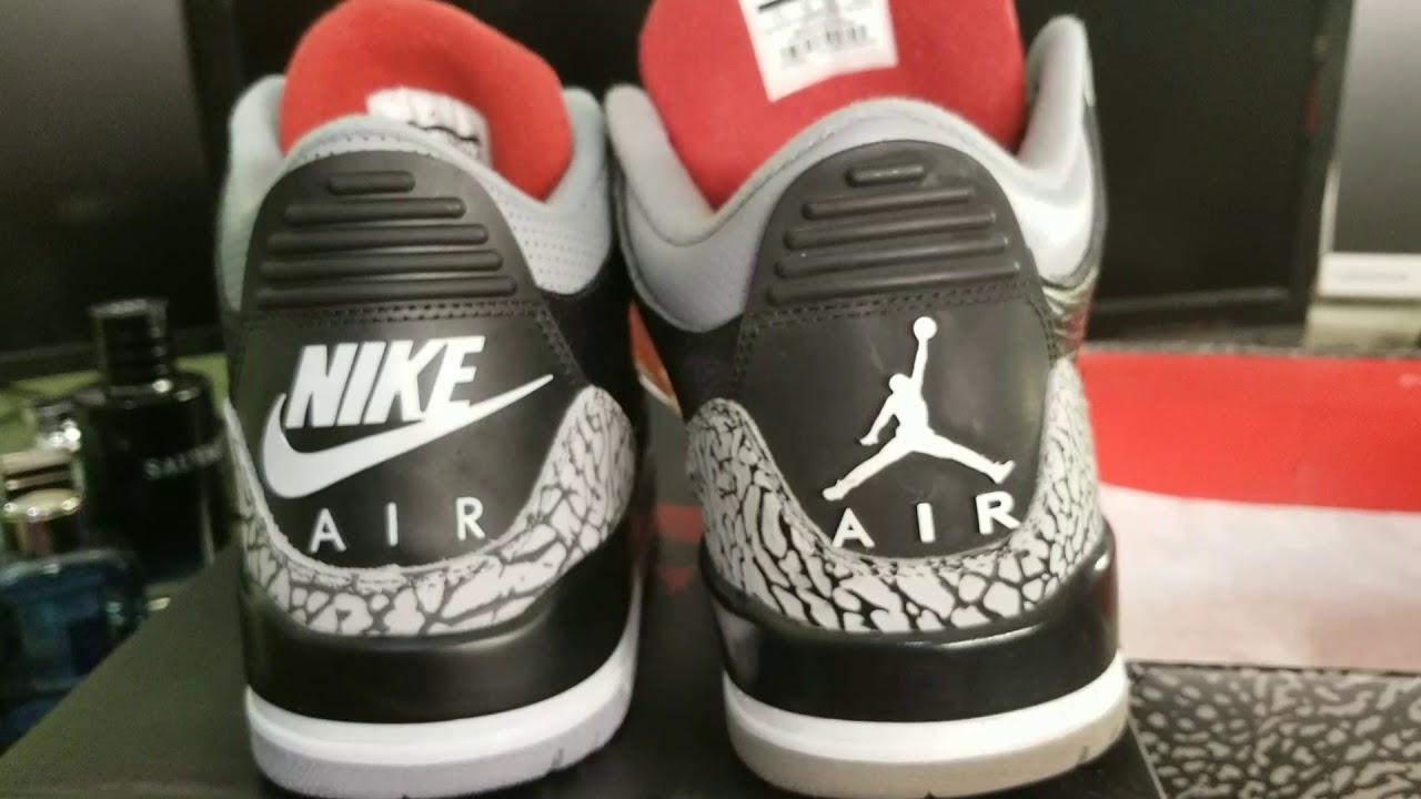 0501fbae8b82 Nike Air Jordan 3s Black Cement 2018 Honest review firekicks.cn hotkicks.cn