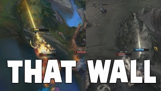 THAT THICK WALL!- C9 Members Manage To Fail Getting Over It TWICE   Funny LoL Series #473