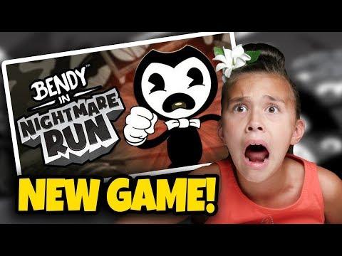 BENDY NIGHTMARE RUN  BENDY BOSS BATTLE!!! New Bendy Game to Give You Nightmares!